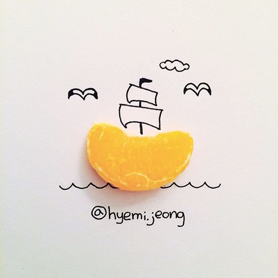 10 أعمال فنية للفنان @heymi.jeong يدمج فيها الرسم مع مواد متداولة #فن - صورة 9