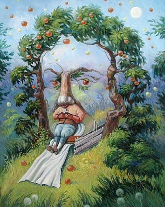 35 عمل فني خيالي للفنان #Oleg_Shuplyak الذي يتميز باستخدام #خداع_بصري لتنفيذ أعماله #فن - صورة 16