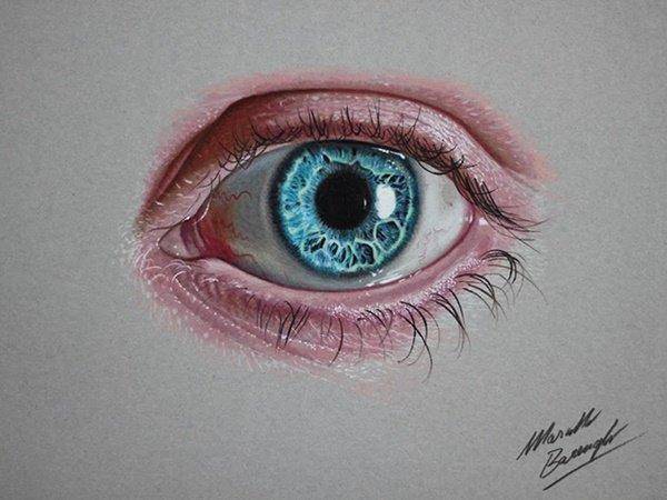 40 صورة ملونة باستخدام أقلام الرصاص #Pencil_Drawing #فن - صورة 31