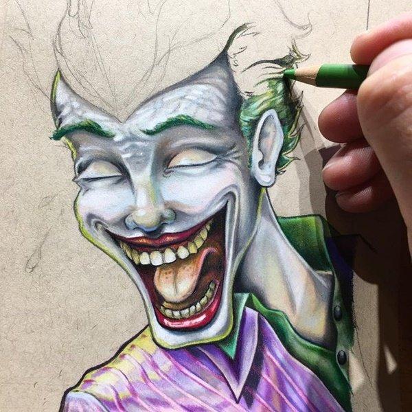 40 صورة ملونة باستخدام أقلام الرصاص #Pencil_Drawing #فن - صورة 18