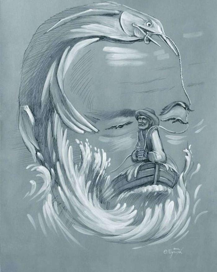 35 عمل فني خيالي للفنان #Oleg_Shuplyak الذي يتميز باستخدام #خداع_بصري لتنفيذ أعماله #فن - صورة 6