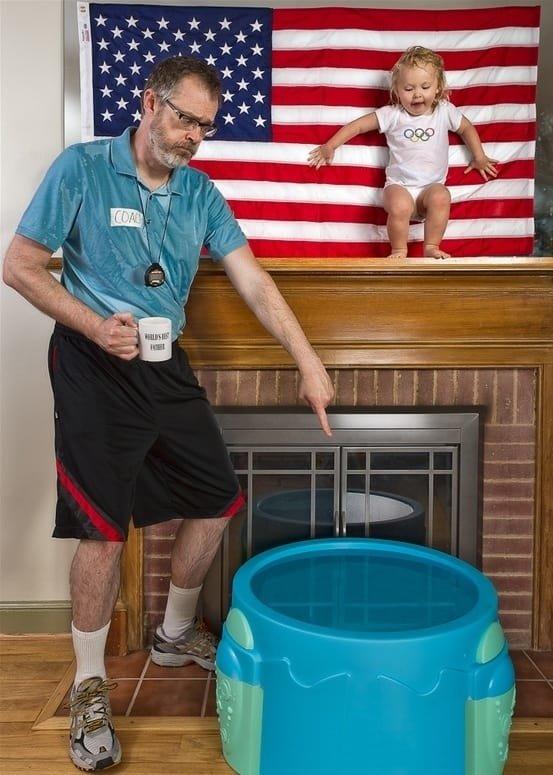 مجموعة صور مبدعة ل #Dave_Engledow مع ابنته - صورة ٤