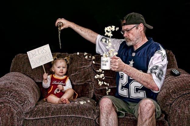 مجموعة صور مبدعة ل #Dave_Engledow مع ابنته - صورة ١