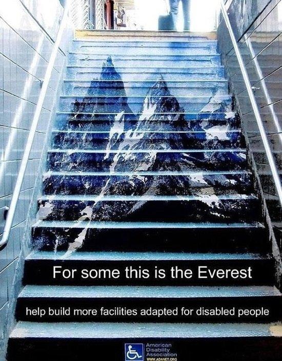 عندما يبدع مصممو الإعلانات #تسويق - American Disability Association