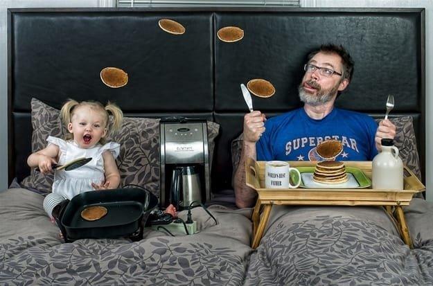 مجموعة صور مبدعة ل #Dave_Engledow مع ابنته - صورة ٥