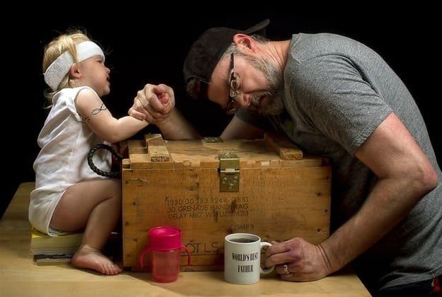 مجموعة صور مبدعة ل #Dave_Engledow مع ابنته - صورة ٩
