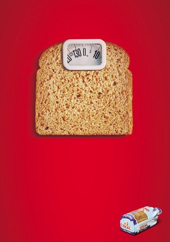 عندما يبدع مصممو الإعلانات #تسويق - Ideal Bread