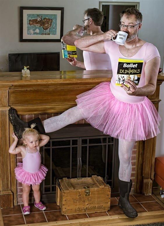 مجموعة صور مبدعة ل #Dave_Engledow مع ابنته - صورة ١٣