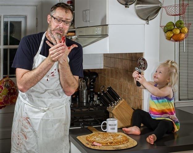 مجموعة صور مبدعة ل #Dave_Engledow مع ابنته - صورة ٧