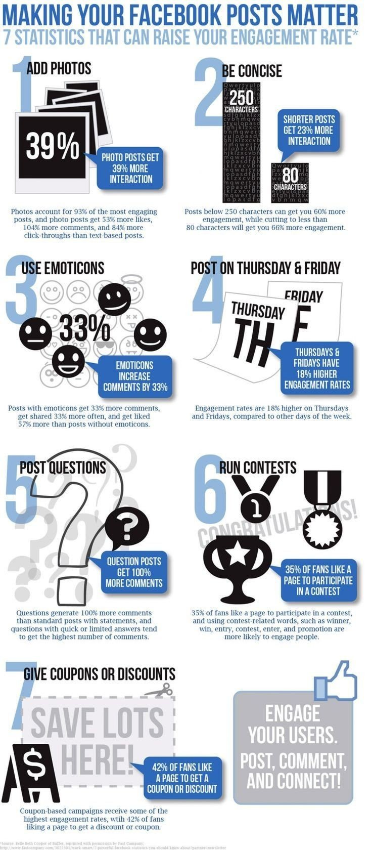 Making your #Facebook posts matter #SMM #Marketing #Infographic