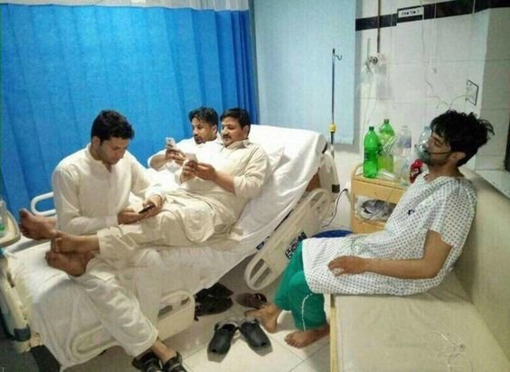 زيارة المريض العجيبة #مضحك #نهفات