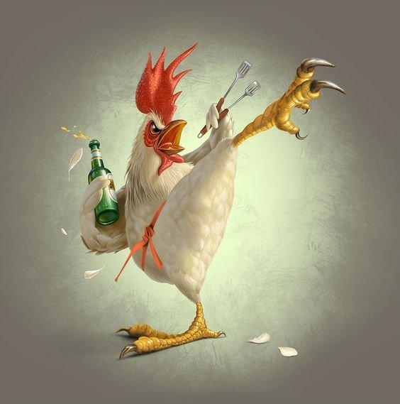 #إعلانات باستخدام الدجاج #تسويق - صورة 1