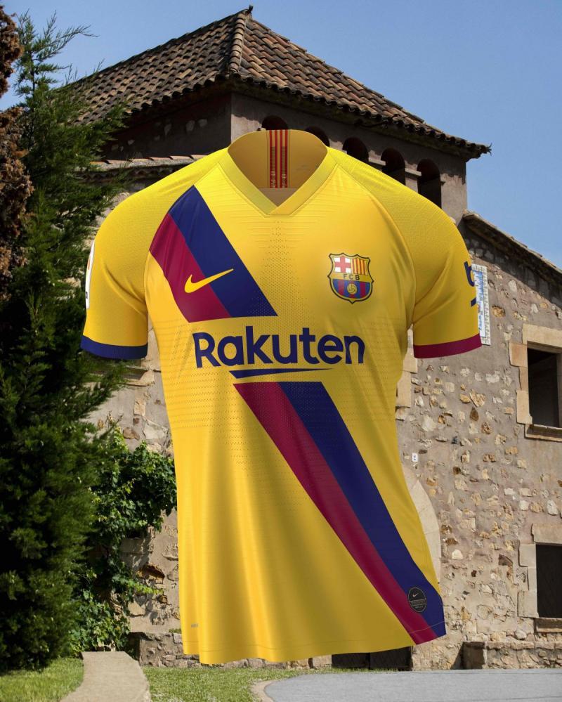 قميص نادي #برشلونة الاحتياطي لموسم ٢٠١٩ و ٢٠٢٠