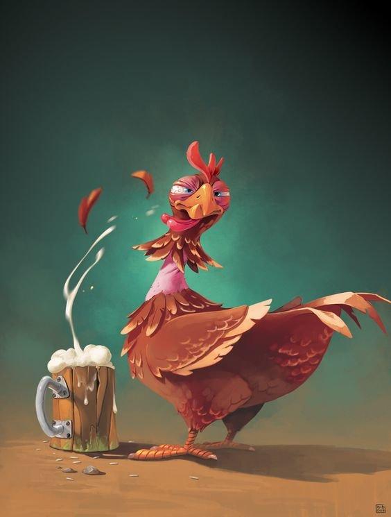 #إعلانات باستخدام الدجاج #تسويق - صورة 2