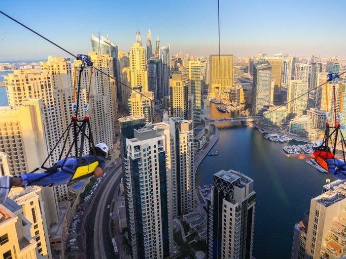 منظر مخيف وجميل في xline #دبي - صورة ٣