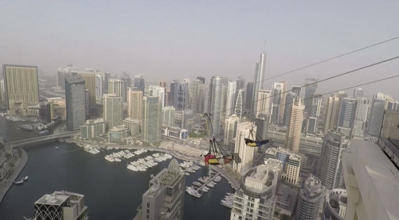 منظر مخيف وجميل في xline #دبي - صورة ٤