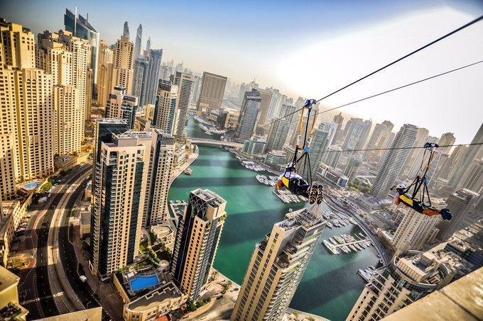 منظر مخيف وجميل في xline #دبي - صورة ٢