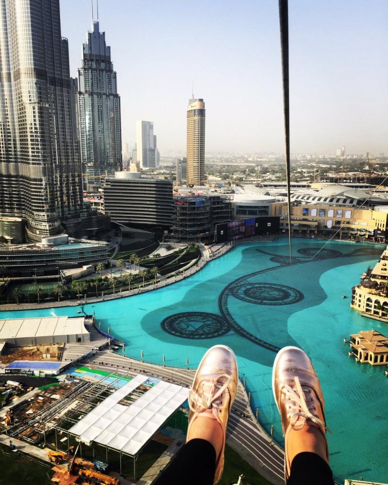 منظر مخيف وجميل في xline #دبي - صورة ٦