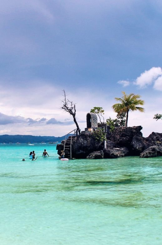 the Island of #Boroacay in #Philippines