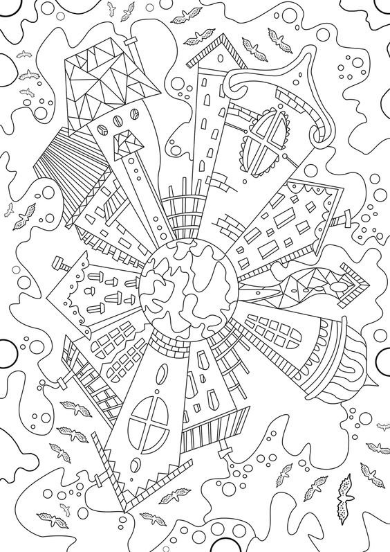 لوحات فنية مبسطة #Doodle #فن - صورة 6