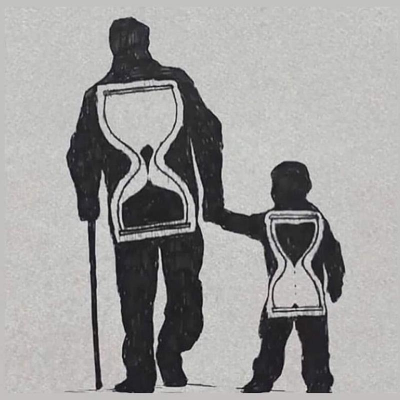 #الأب يفني حياته ليصنع لك حياة #حكم #رمزيات #أقوال