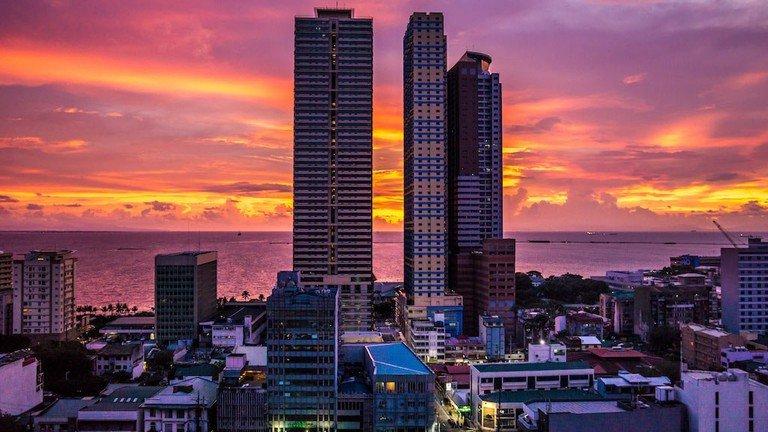 Sun Set in #Manila #Philippines