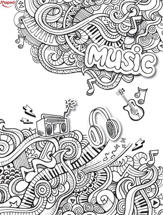 لوحات فنية مبسطة #Doodle #فن - صورة 4