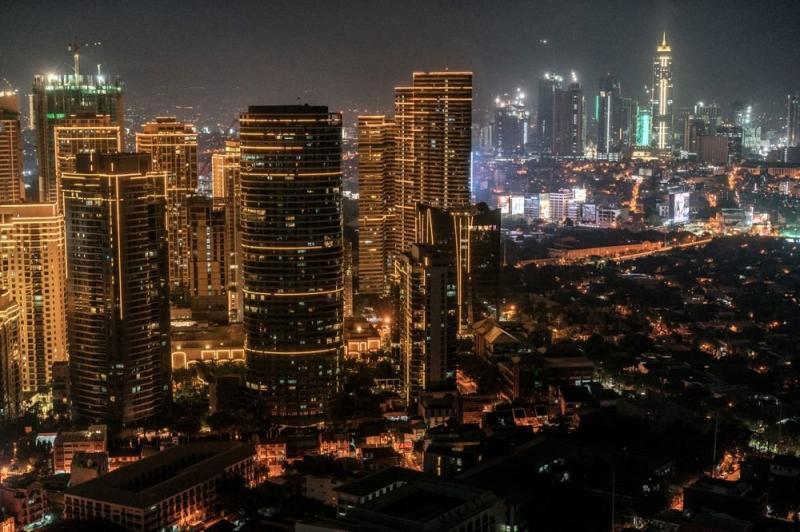 Night photo of #Manila #Philippines