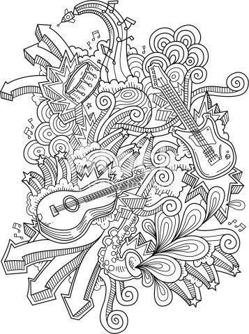 لوحات فنية مبسطة #Doodle #فن - صورة 5