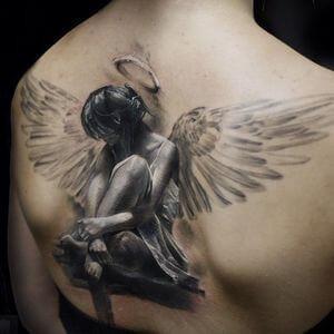 تصاميم #وشوم #وشم #Tattoos على صور ملائكة #فن #ماكياج #بنات - صورة 21