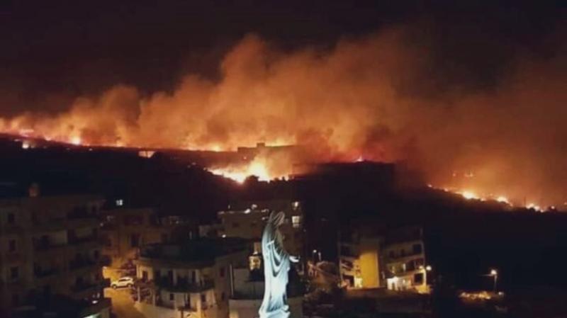 #حرائق في غابات #لبنان #لبنان_يحترق - صورة 1