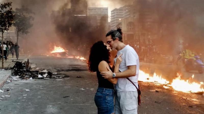 صور من مظاهرات #لبنان #لبنان_ينتفض - صورة 10