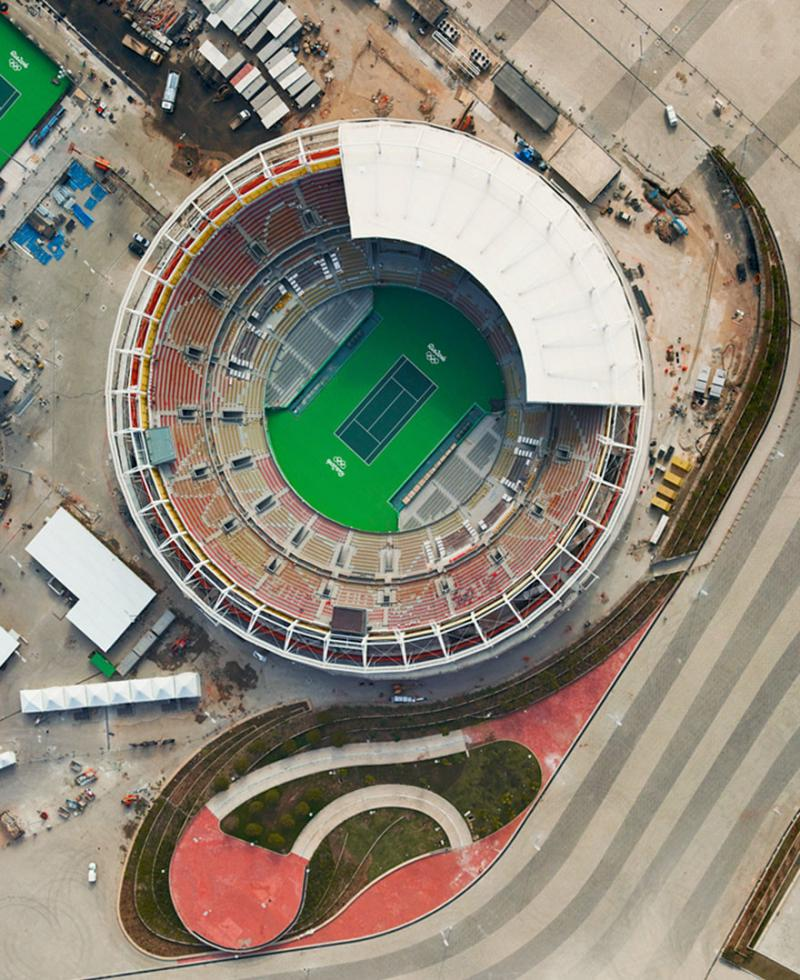 Amazing #Satellite Photos from the #World - Olympic Tennis Center, Rio De Janiero, #Brazil - Image 26