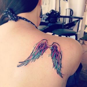 تصاميم #وشوم #وشم #Tattoos على صور ملائكة #فن #ماكياج #بنات - صورة 54