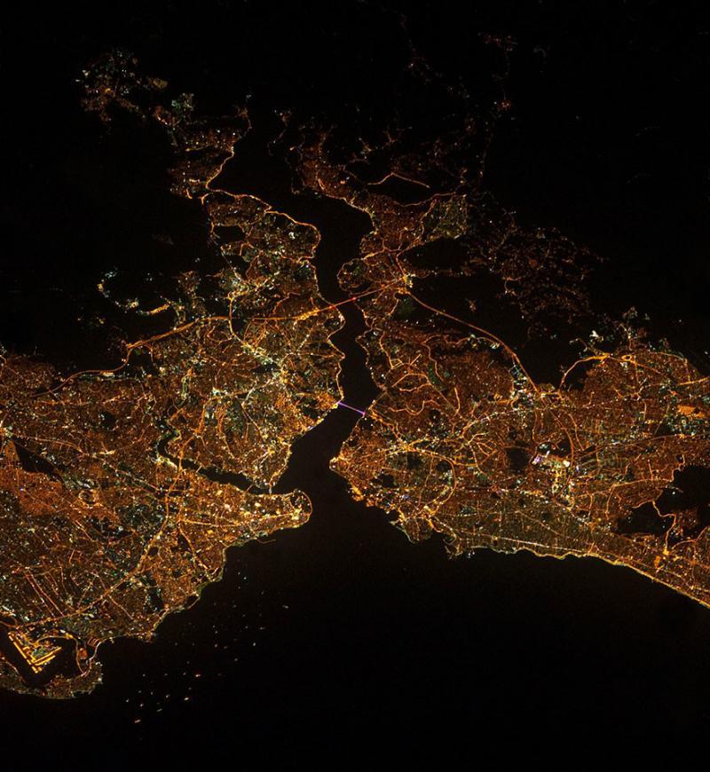 Amazing #Satellite Photos from the #World #Istanbul , #Turkey - Image 73