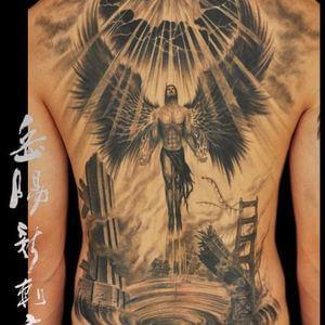 تصاميم #وشوم #وشم #Tattoos على صور ملائكة #فن #ماكياج #بنات - صورة 24
