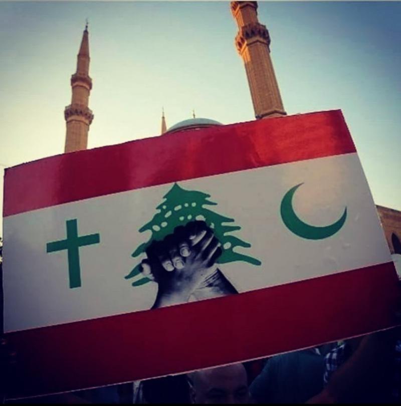 صور من مظاهرات #لبنان #لبنان_ينتفض - صورة 11
