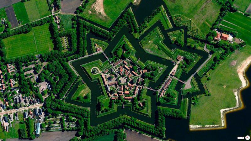 Amazing #Satellite Photos from the #World Palmanova, #Italy - Image 82
