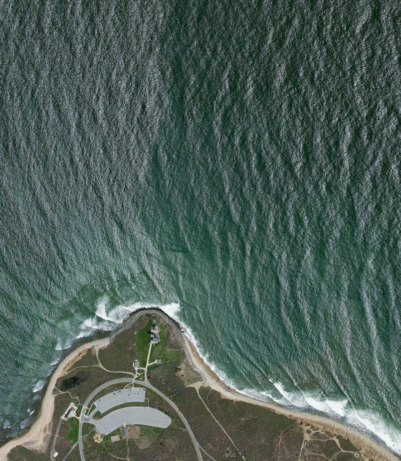 Amazing #Satellite Photos from the #World - Montauk Point Light, Montauk, #NewYork , #United_States - Image 46