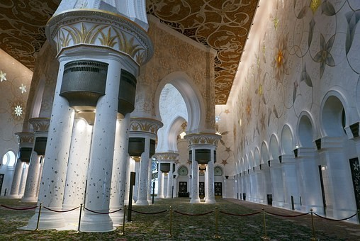 صور #مسجد #الشيخ_زايد في #أبوظبي #الإمارات - صورة 42