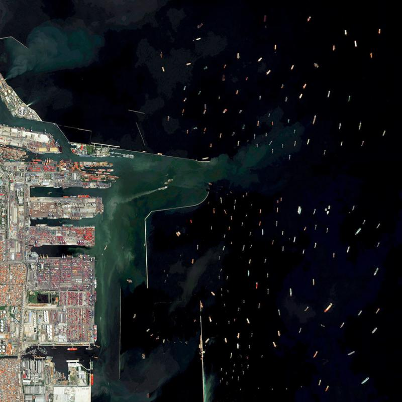 Amazing #Satellite Photos from the #World Port Of Tanjung Priok, Jakarta, #Indonesia - Image 23