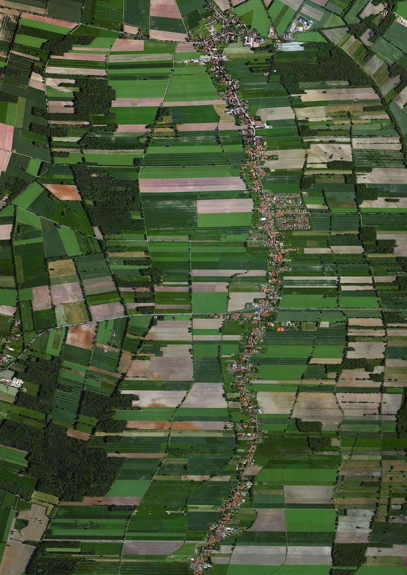 Amazing #Satellite Photos from the #World - Rodewald, #Germany - Image 58