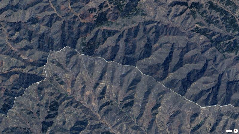 Amazing #Satellite Photos from the #World - Great Wall Of China, Northern #China - Image 33
