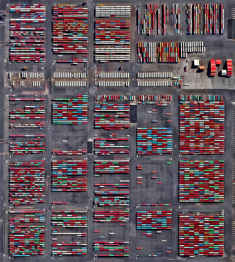 Amazing #Satellite Photos from the #World - Port Newark, Newark, #NewJersey , #United_States - Image 40