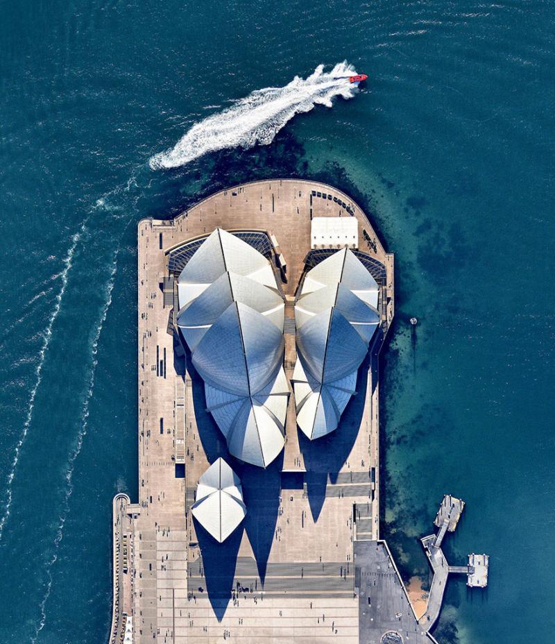 Amazing #Satellite Photos from the #World - #Sydney Opera House, #Australia - Image 32