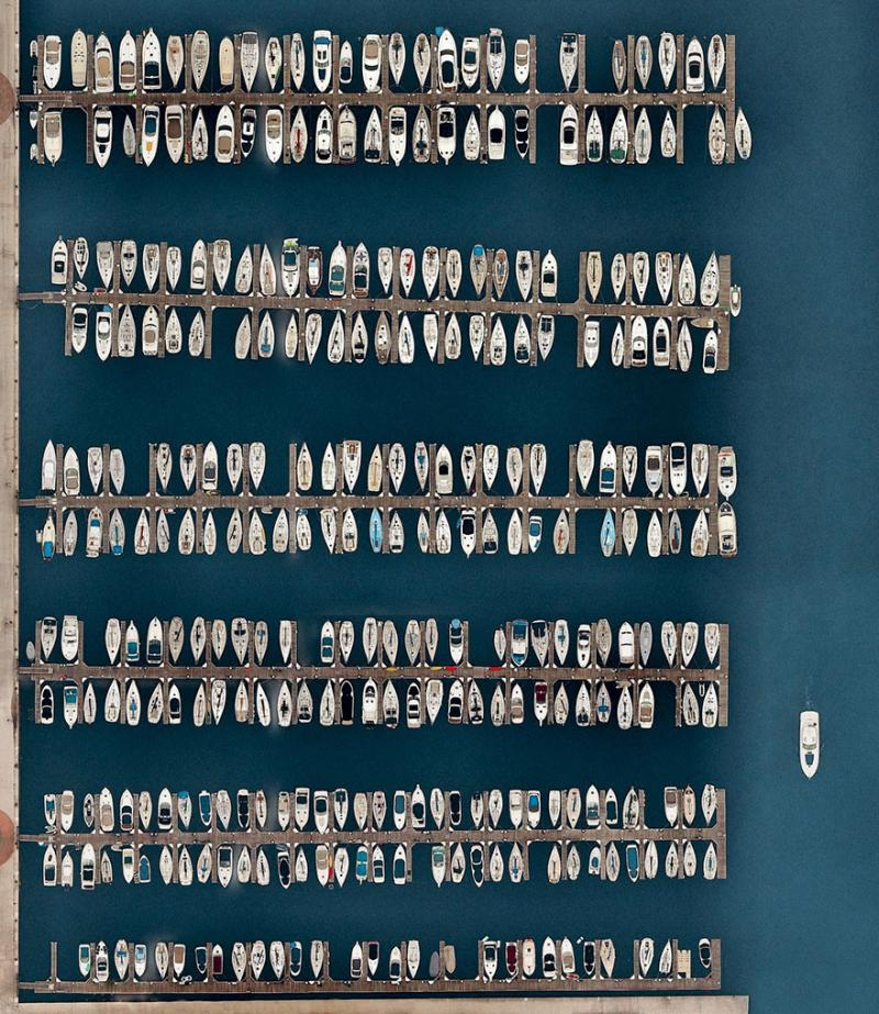 Amazing #Satellite Photos from the #World - Dusable Harbor, Chicago, #Illinois, #United_States - Image 9