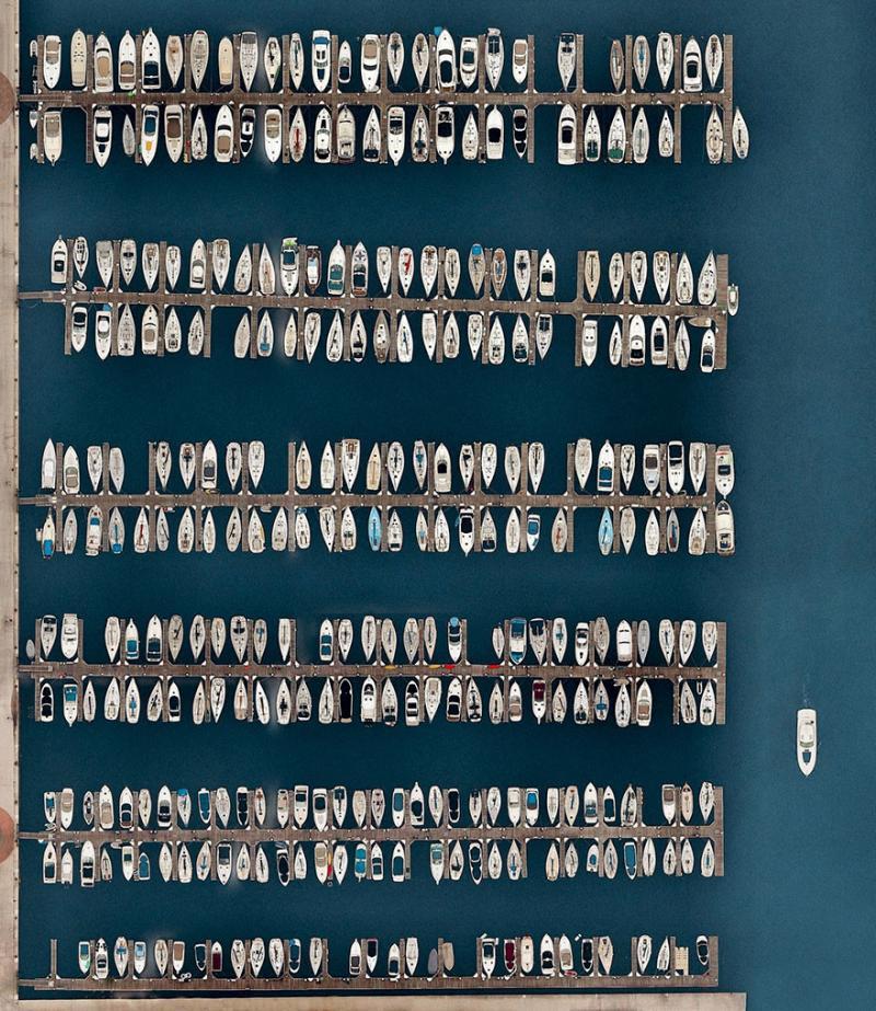 Amazing #Satellite Photos from the #World - Dusable Harbor, Chicago, #Illinois, #United_States - Image 9