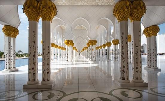 صور #مسجد #الشيخ_زايد في #أبوظبي #الإمارات - صورة 29