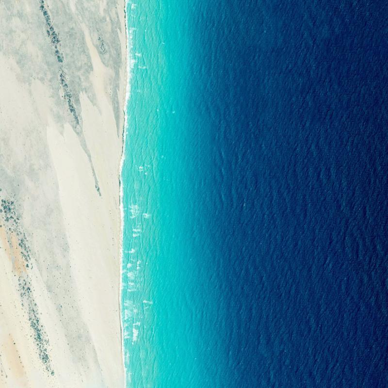 Amazing #Satellite Photos from the #World - Coastline, El Hur, #Somalia - Image 35
