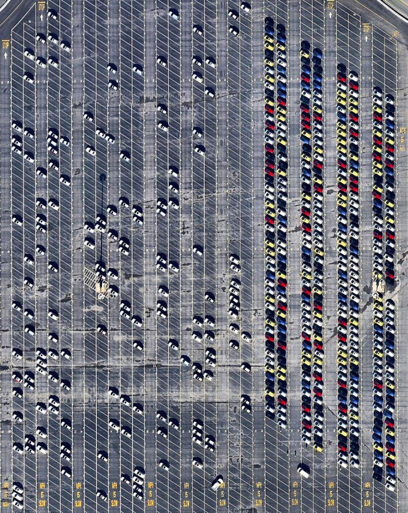 Amazing #Satellite Photos from the #World - Car Terminal, Richmond, #California, #United_States - Image 52